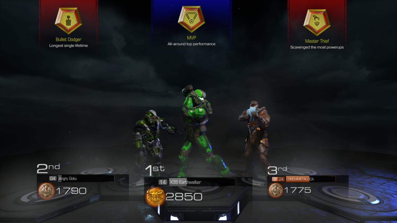 Top rank in DOOM - X35 Earthwalker