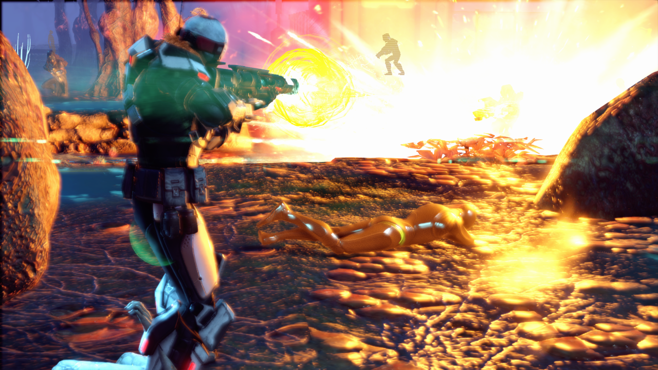 Awesome explosion in XCOM 2: War of the Chosen - X35 Earthwalker