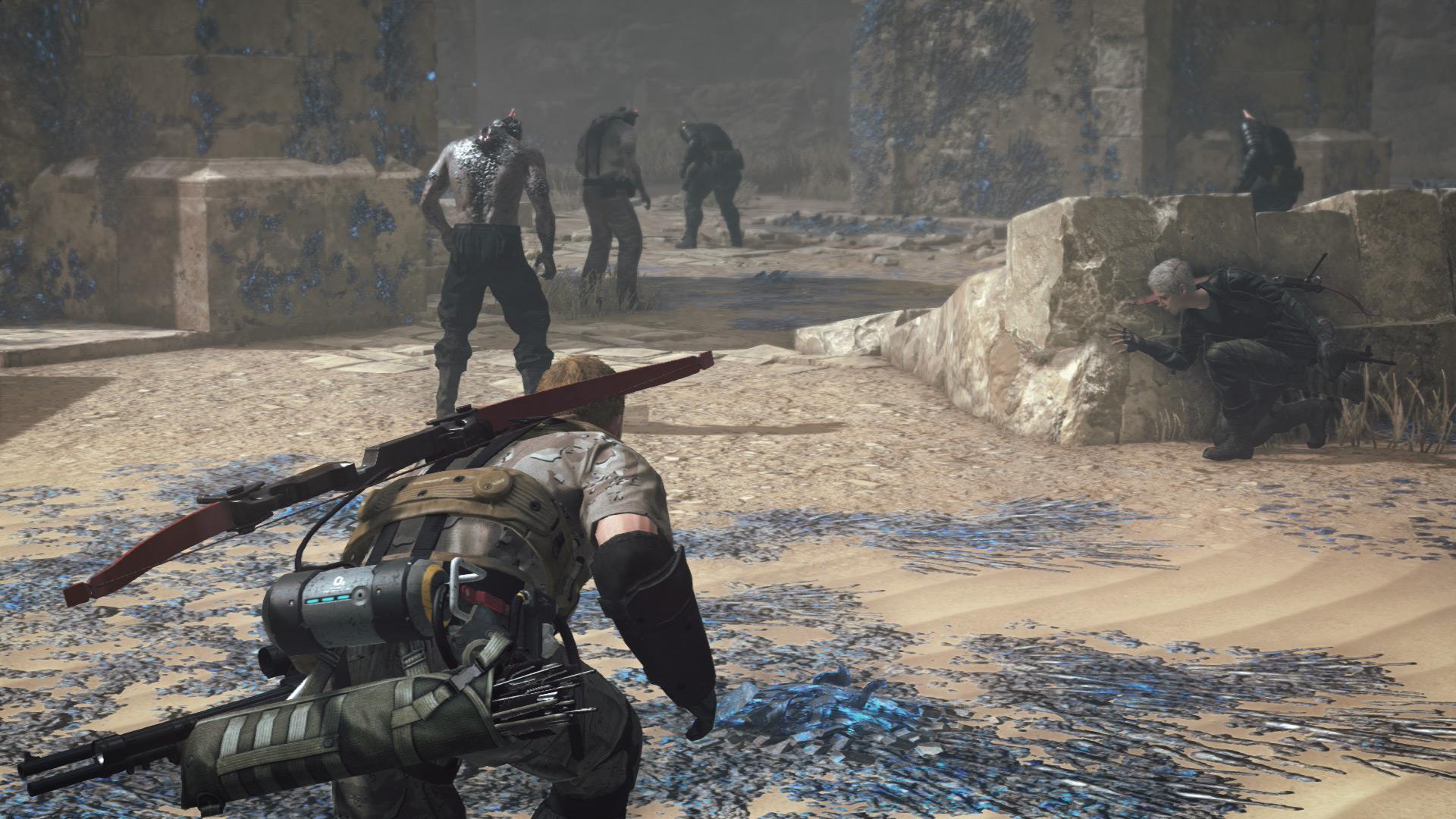 Metal Gear Survive - X35 Earthwalker