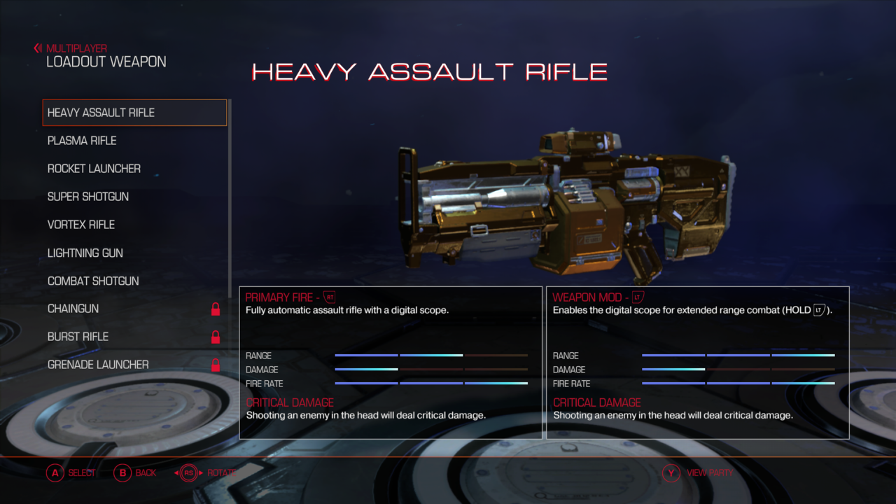 DOOM Heavy Assault rifle