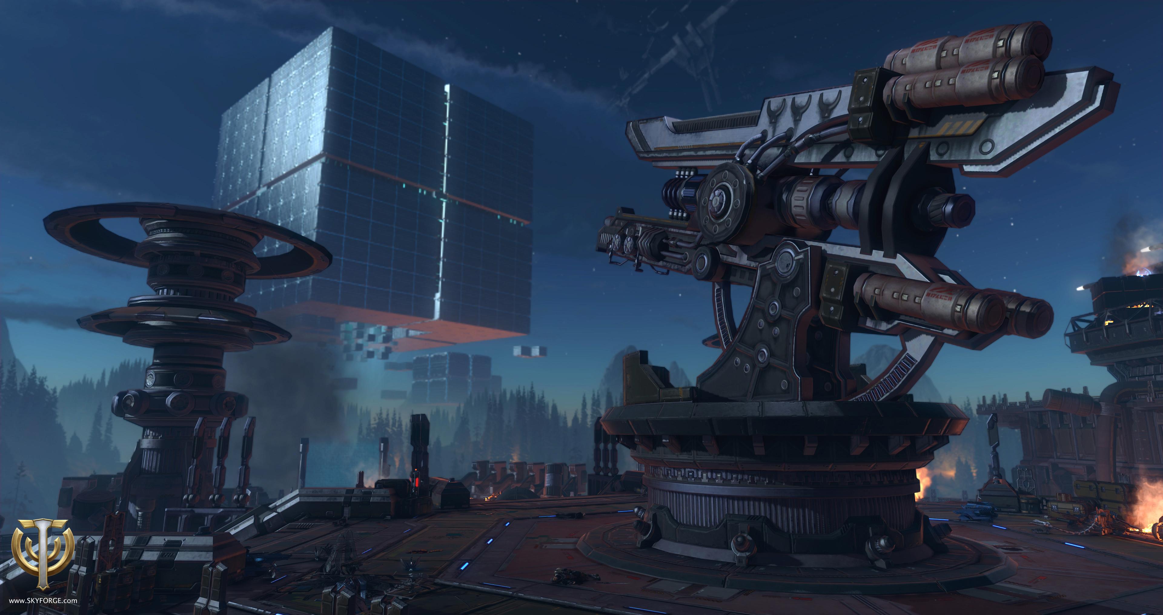 Skyforge invasion - X35 Earthwalker