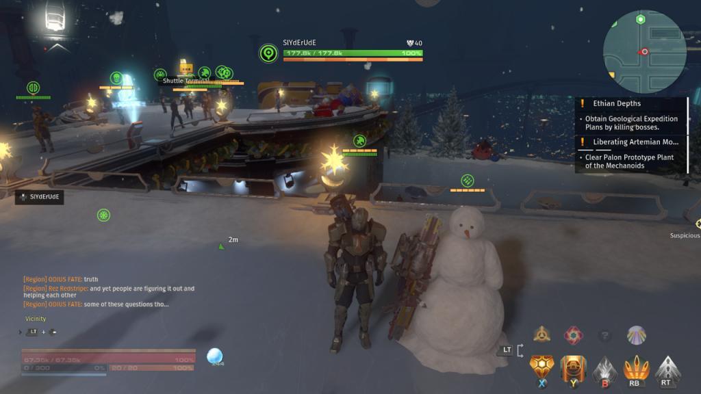 Skyforge Snowman