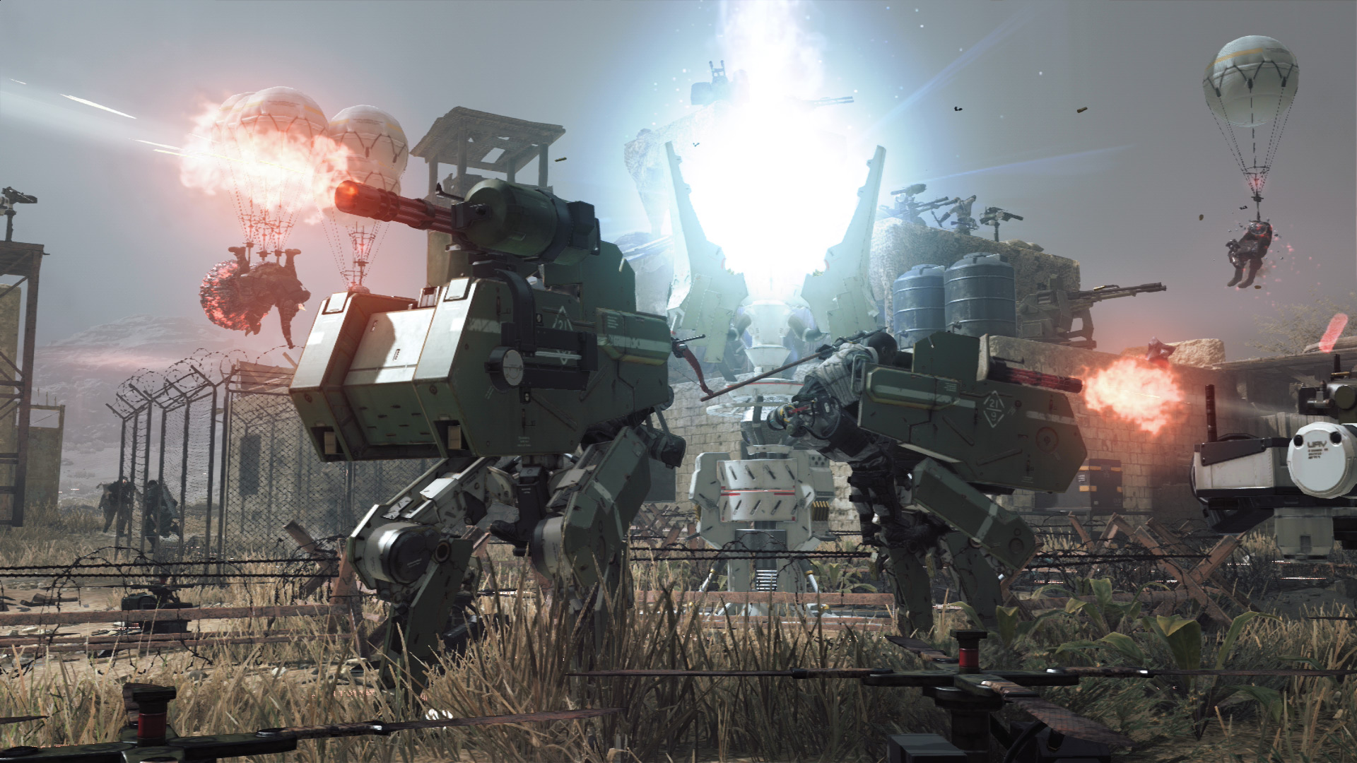 Metal Gear Survive X35 Earthwalker