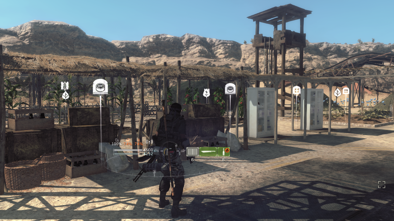 Base Camp in Metal Gear Survive