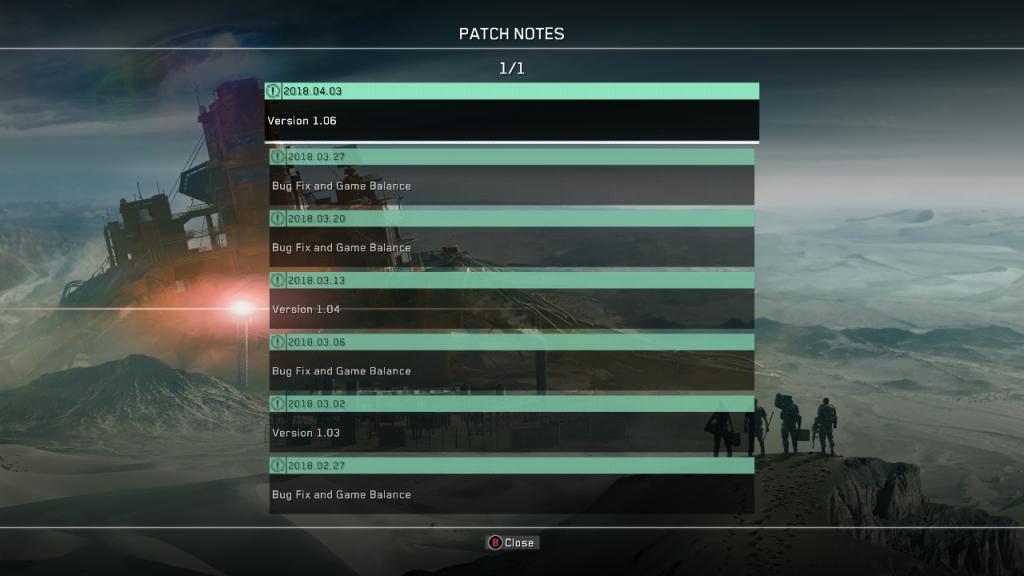 Metal Gear Survive updates
