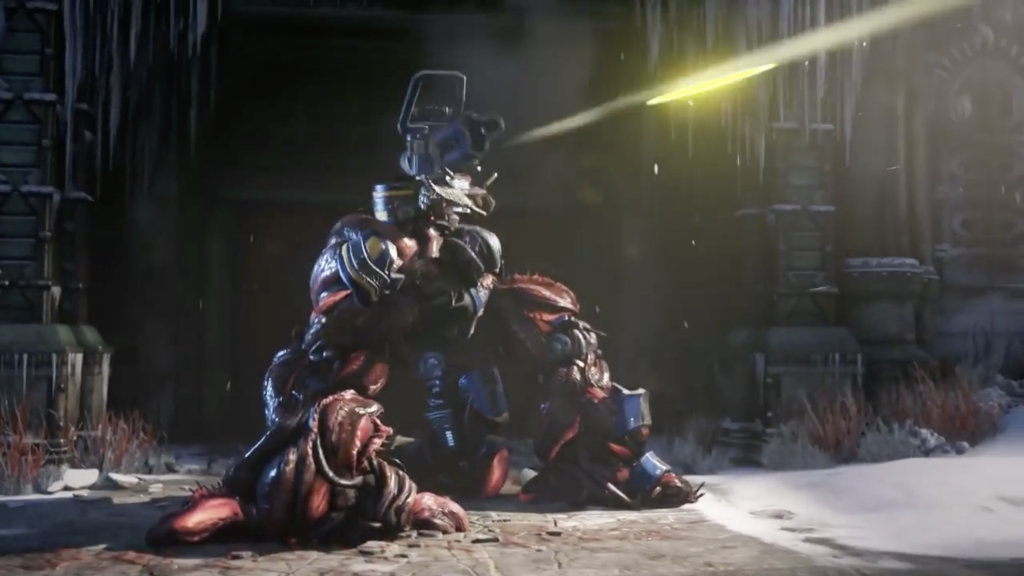 Gears of war 5 Swarm infecting machines