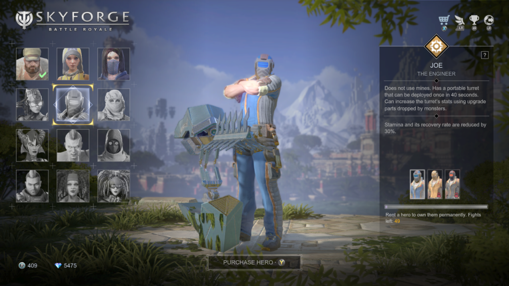 Skyforge Battle Royale