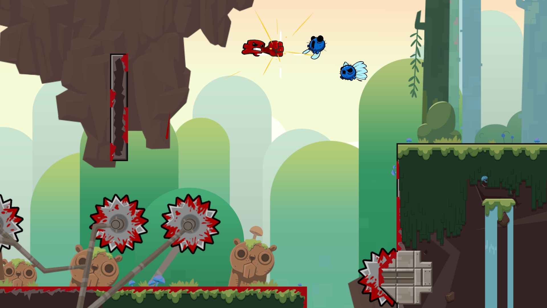 Super Meat Boy Forever Coming Soon X35 Earthwalker