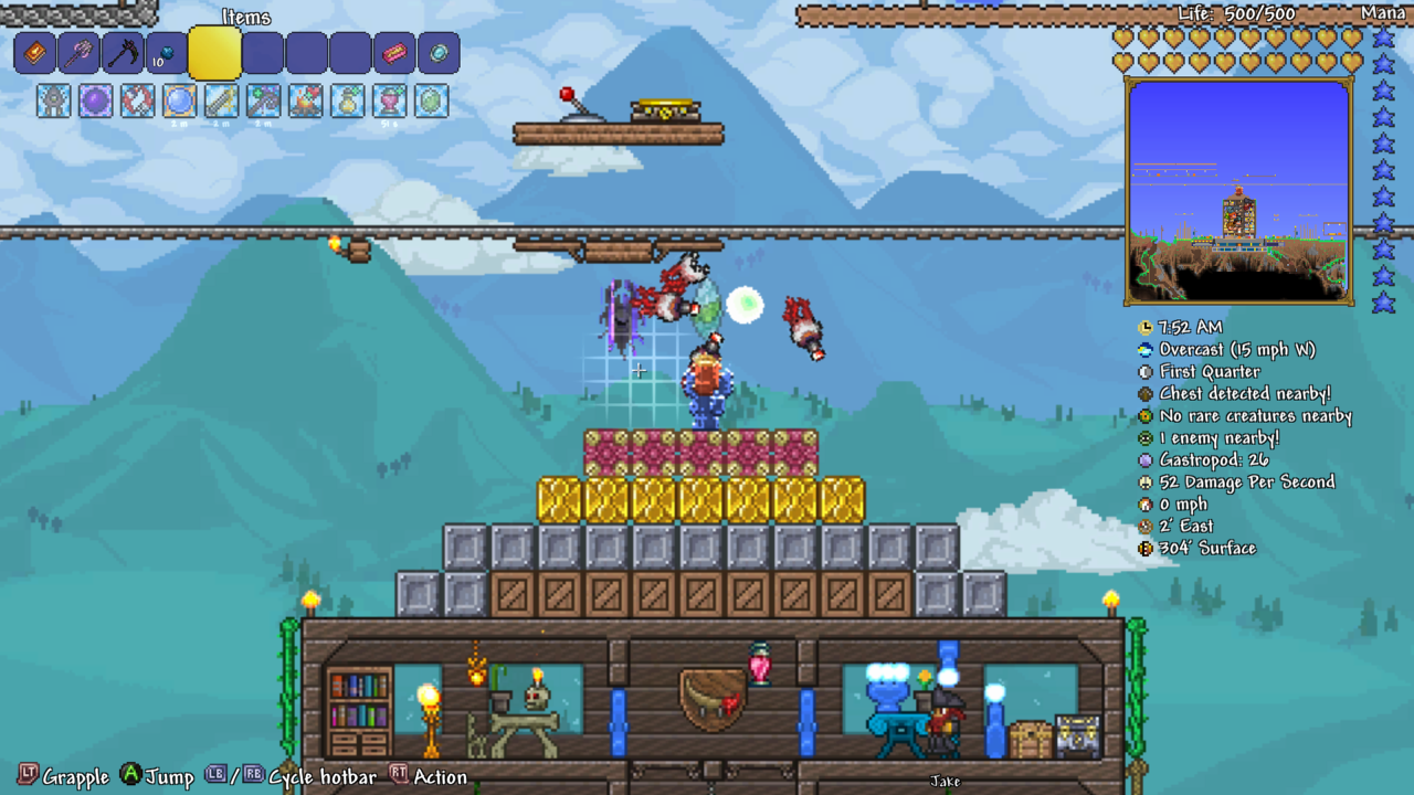 Terraria grand fishing loot