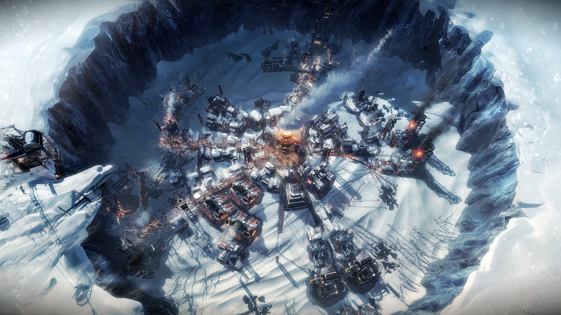 The city in Frostpunk