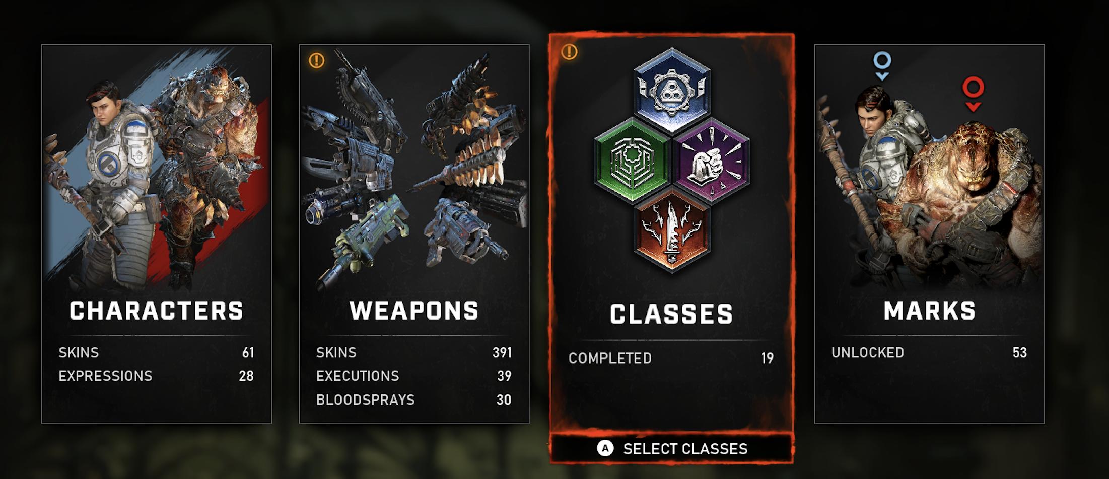 Gears 5 horde classes X35 Earthwalker