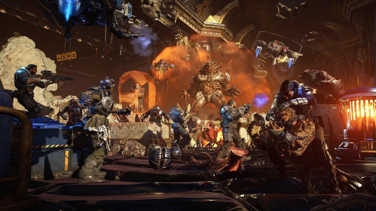 X35 Earthwalker Gears 5 Horde