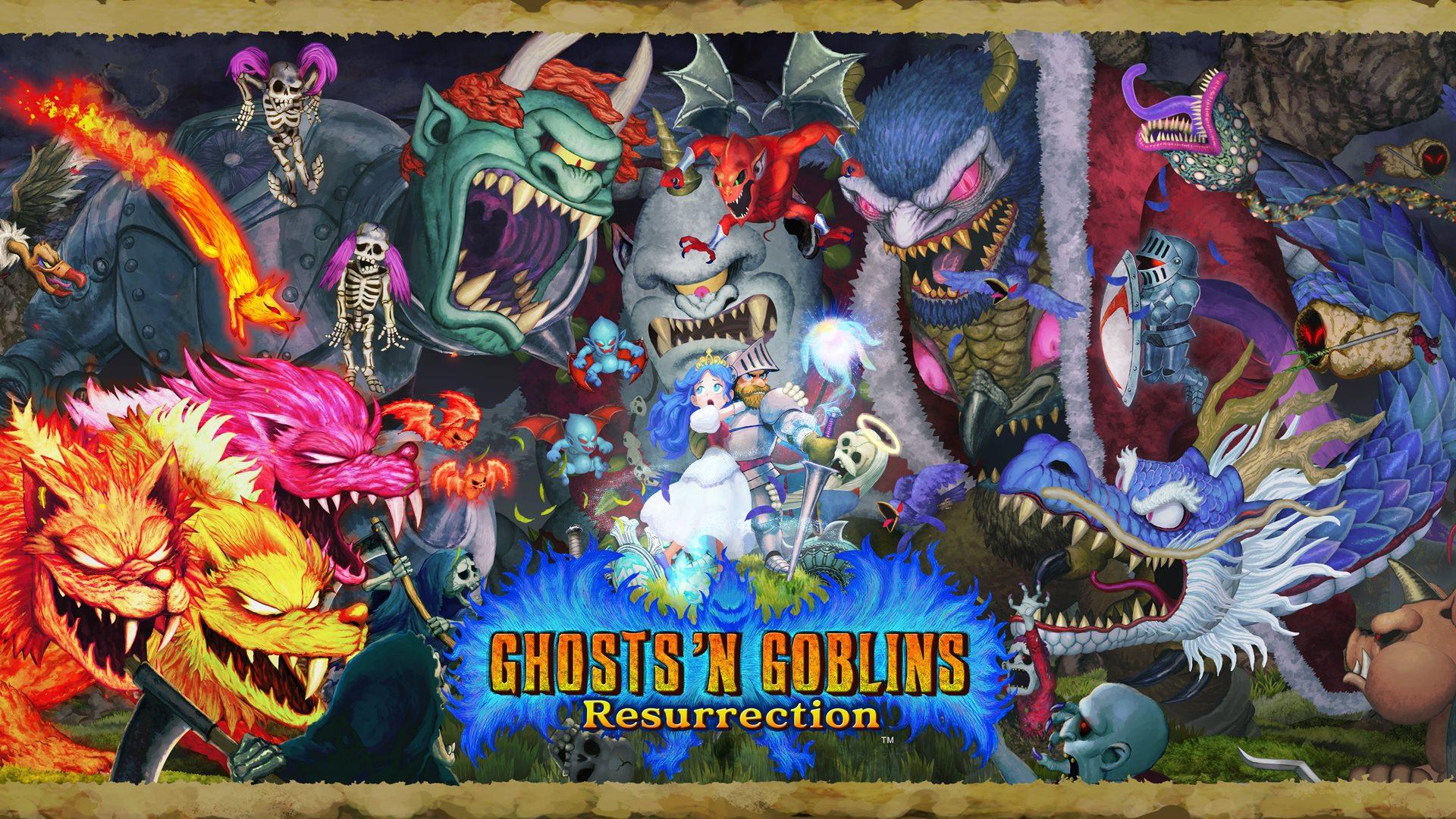 X35 Earthwalker Ghosts n' Goblins Resurrection
